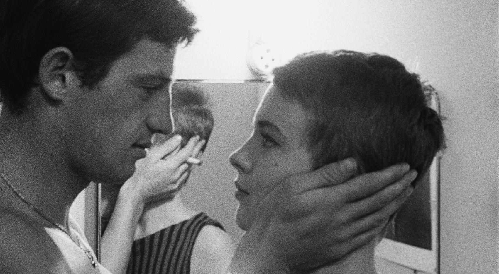 Risultati immagini per fino all'ultimo respiro film 1960
